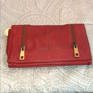 Via Spiga leather clutch/bag